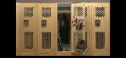Sam's locker, opened